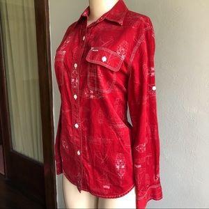 Ralph Lauren   VINTAGE USRL Marine Division Shirt